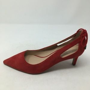 FRANCO SARTO RED CUT OUT HEELS 9M